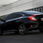 2017 Honda Civic rear quarter launched in Brazil