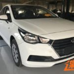 2017 Hyundai Verna front production leaked