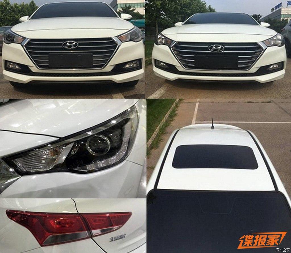 2017 Hyundai Verna headlight production leaked