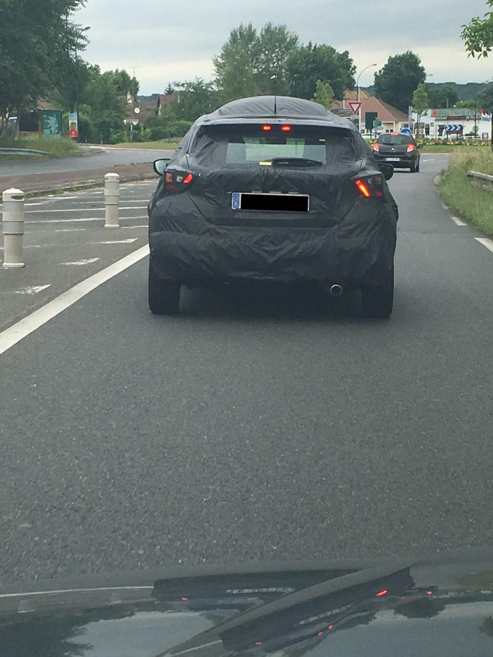 2017 Nissan Micra rear spy shot