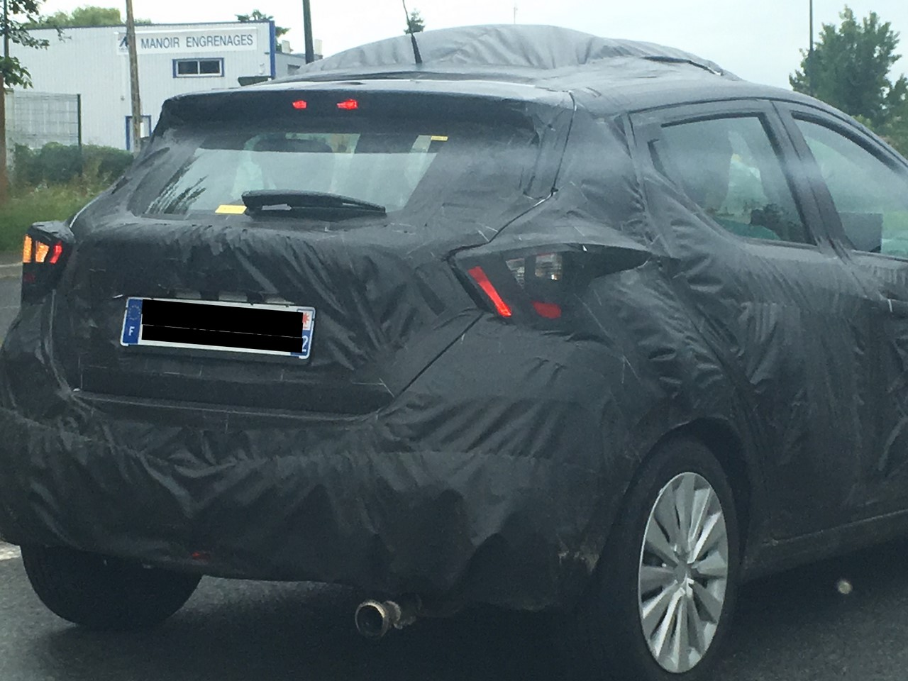 2017 Nissan Micra spy shot France