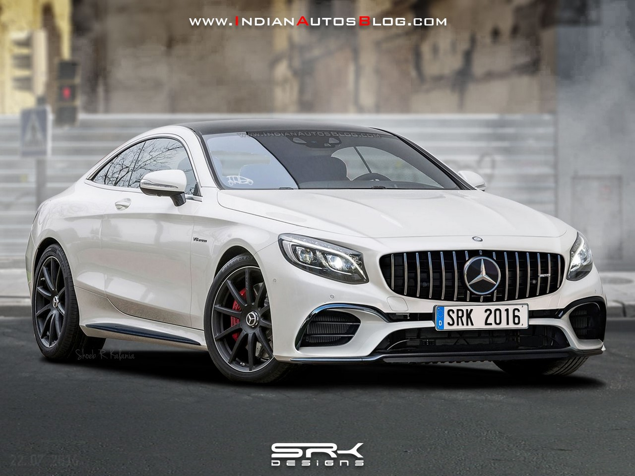 mercedes s63 amg coupe facelift rendering. Black Bedroom Furniture Sets. Home Design Ideas