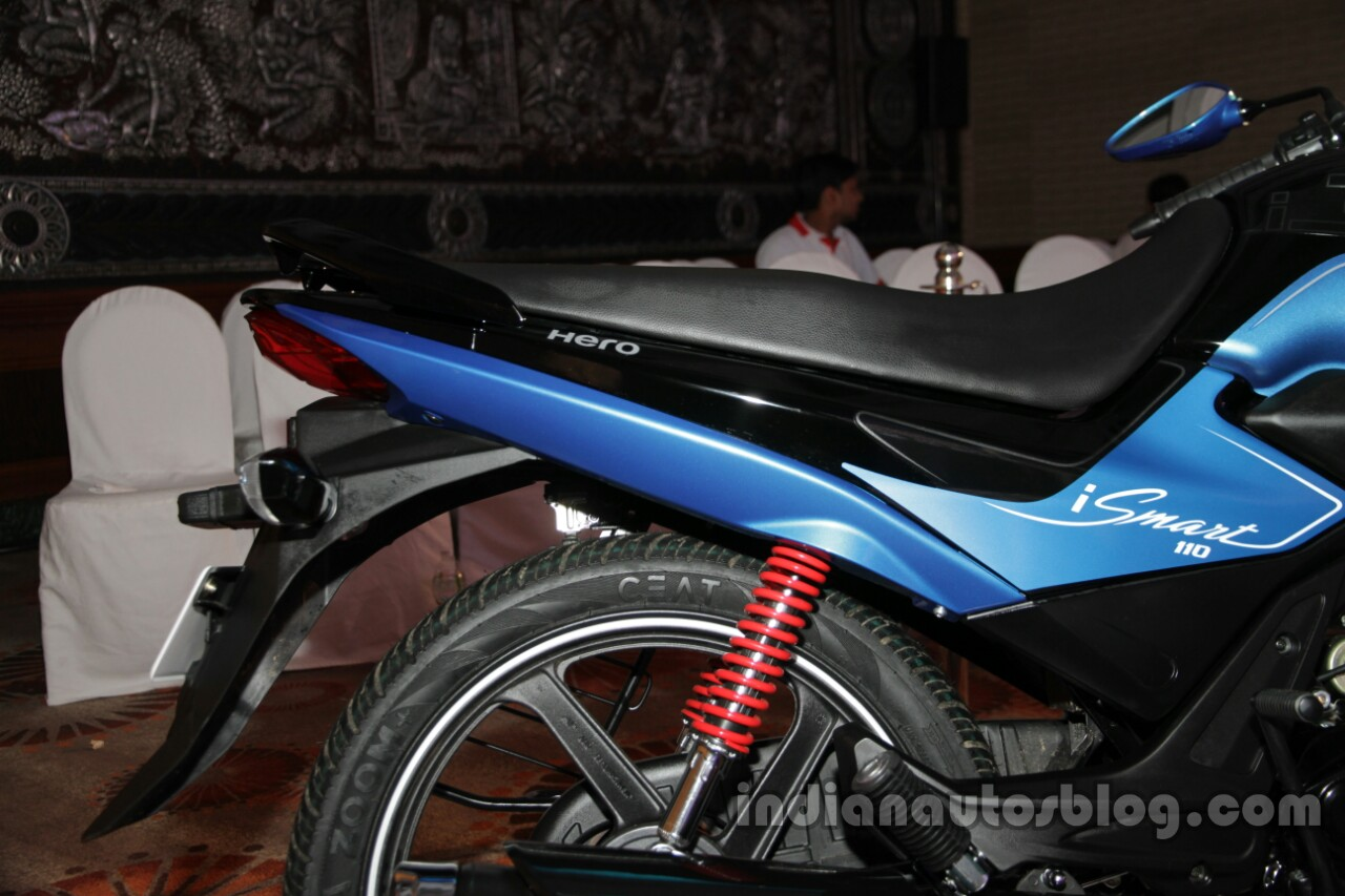 Hero Splendor iSmart 110 rear suspension launch