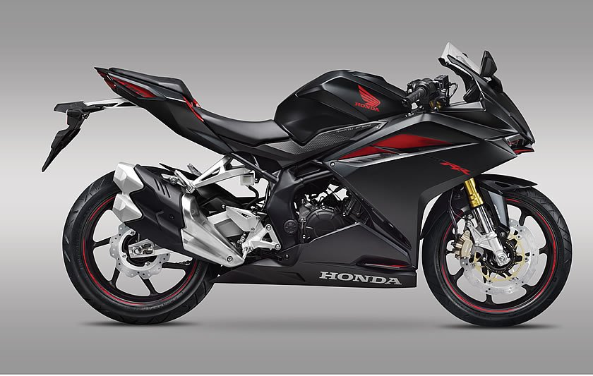 Honda CBR250RR side press shot