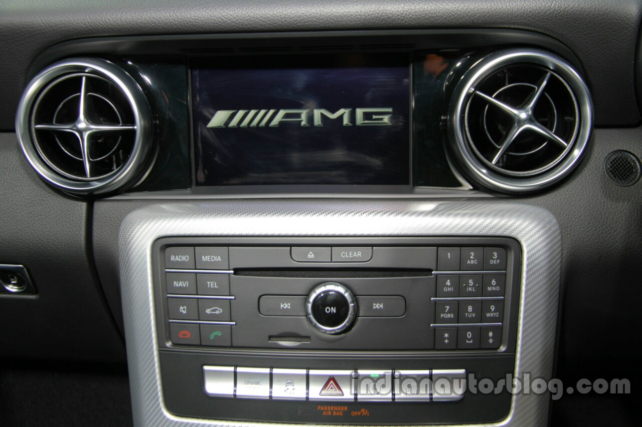 Mercedes-AMG SLC 43 COMAND display launched in India