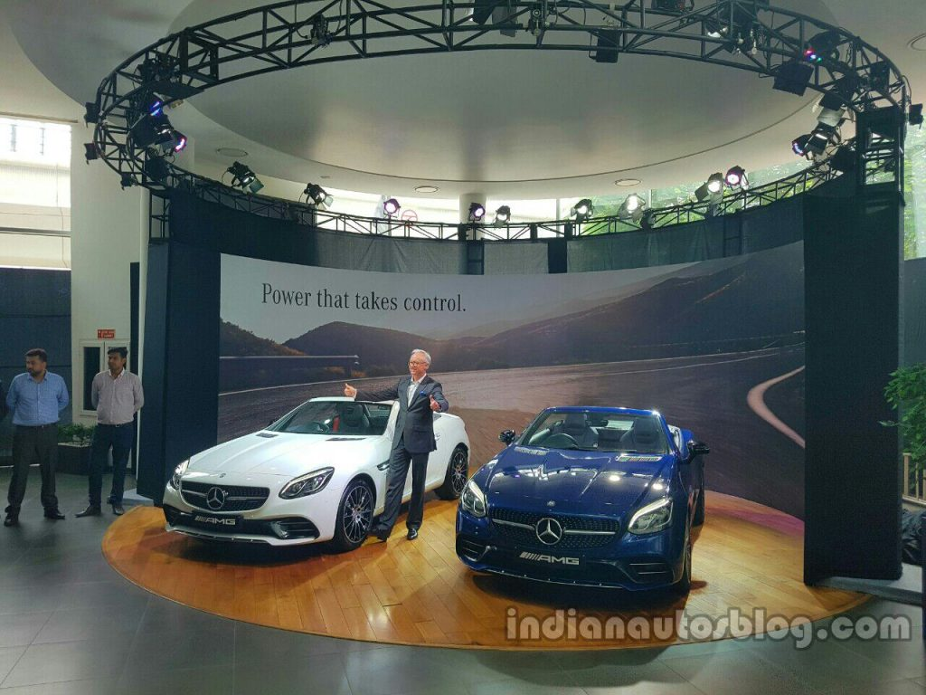 Mercedes-AMG SLC 43 launched in India at INR 77.5 Lakhs