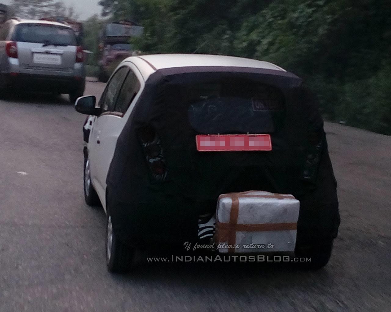 Next-gen Chevrolet Beat taillamp spied testing by IAB reader