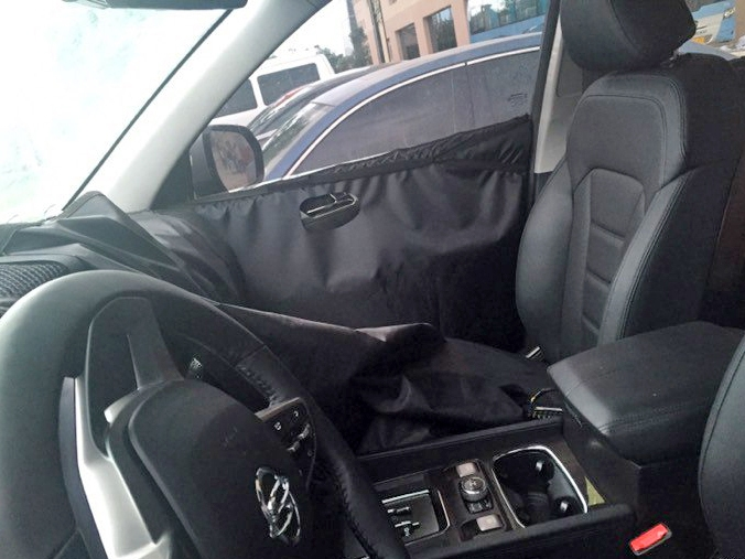 Next-gen SsangYong Rexton interior second image