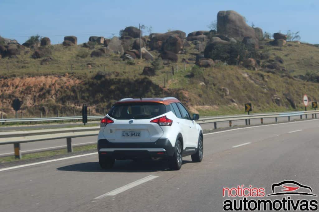 Nissan Kicks in motion