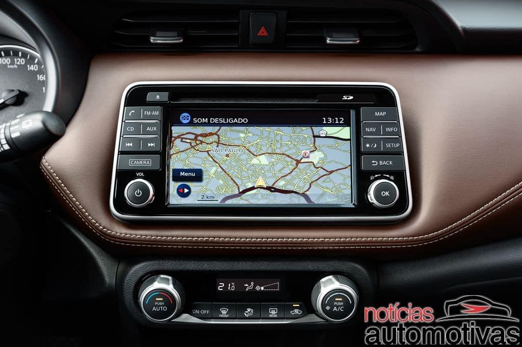 Nissan Kicks official image GPS navigation