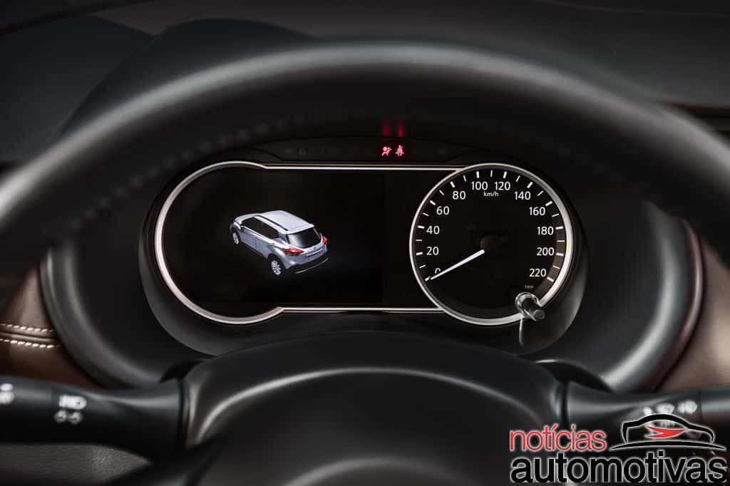 Nissan Kicks official image instrument panel