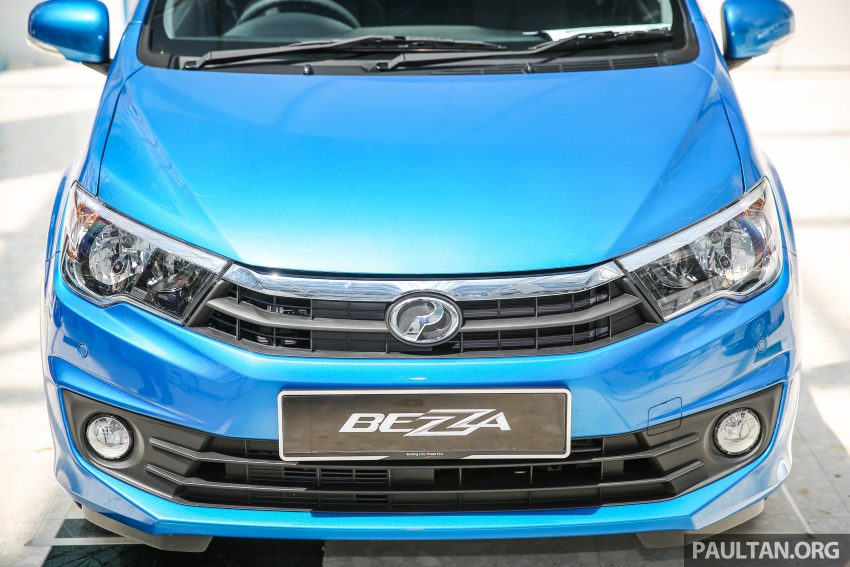 Perodua Bezza front fascia