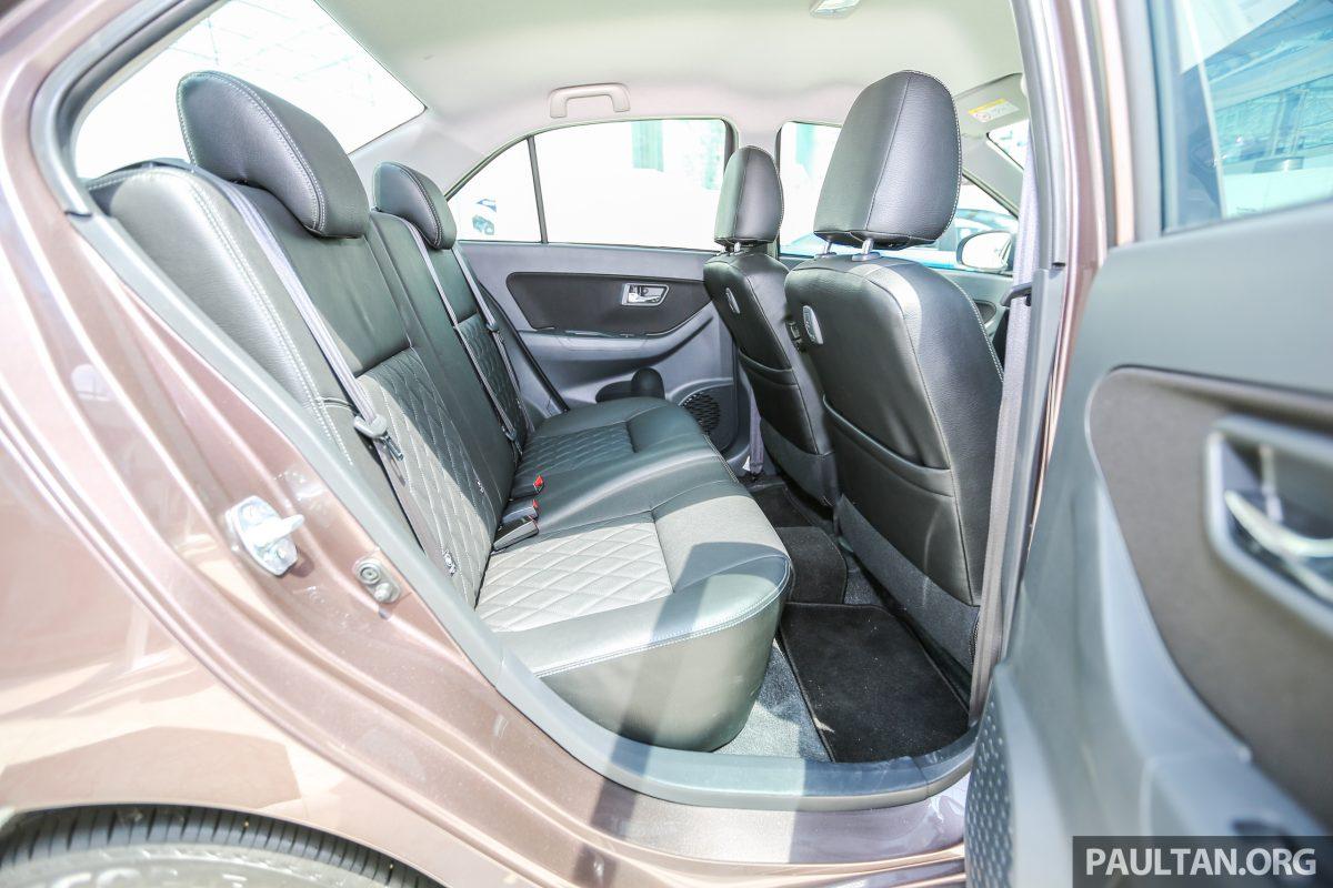 Perodua Bezza sedan rear cabin launched for sale in Malaysia