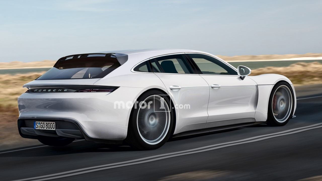 porsche panamera sport turismo rendering. Black Bedroom Furniture Sets. Home Design Ideas