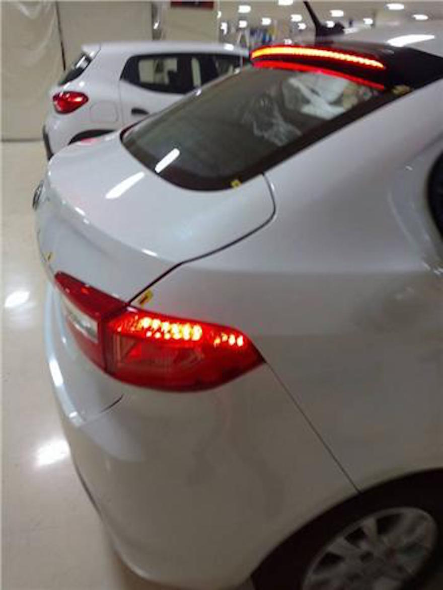 Production Tata Kite 5 rear end photographed