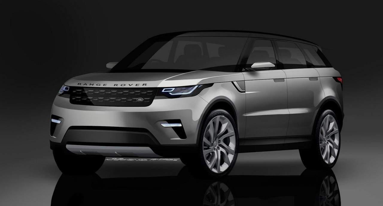 Range Rover Coupe front three quarters rendering