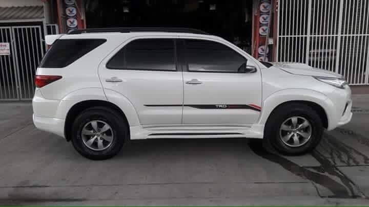 Styling kit side converts existing Toyota Fortuner to 2016 Toyota Fortuner