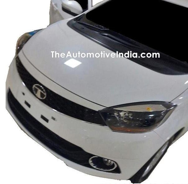 Tata Kite 5 compact sedan shows its production front-end