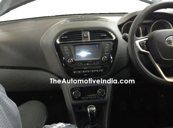 Tata Kite 5 compact sedan shows its production-spec interior