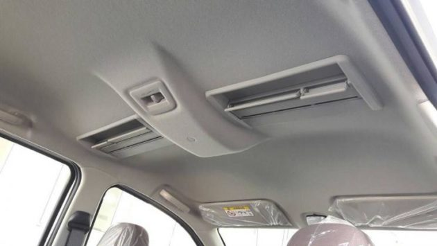 Toyota Calya roof-mounted HVAC vents leaked image