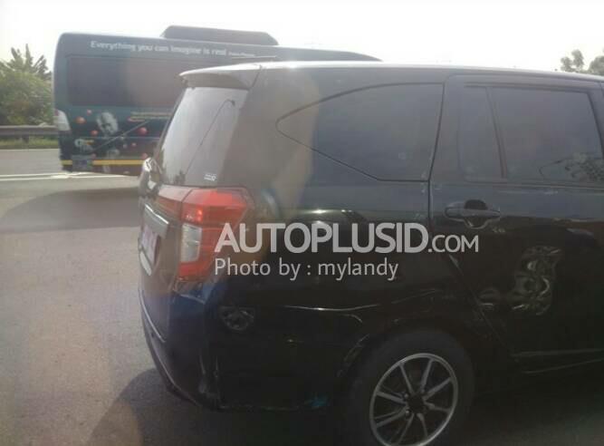 Toyota Calya test mule Indonesia