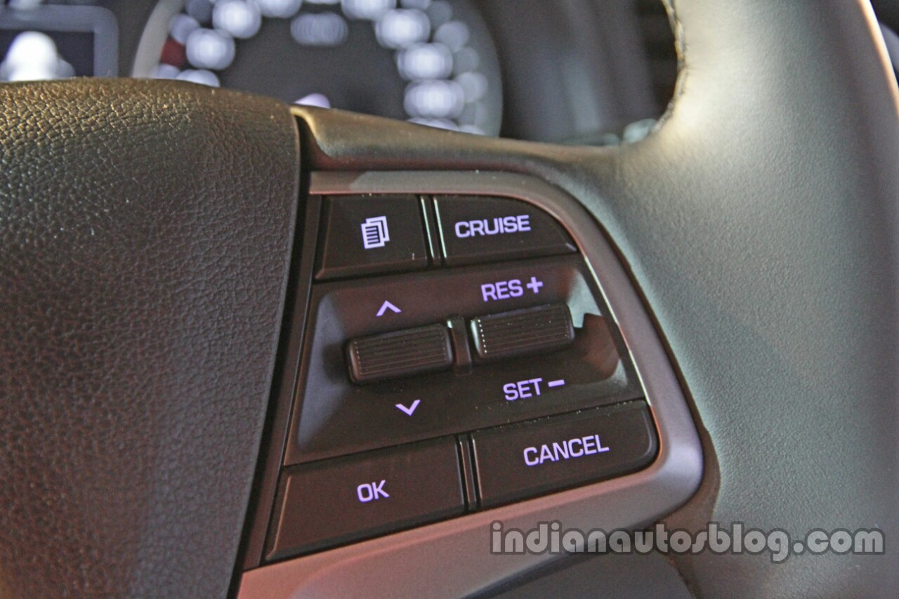 2016 Hyundai Elantra cruise control launched in India