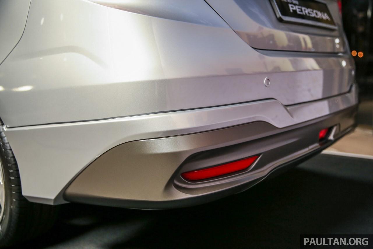 2016 Proton Persona rear bumper