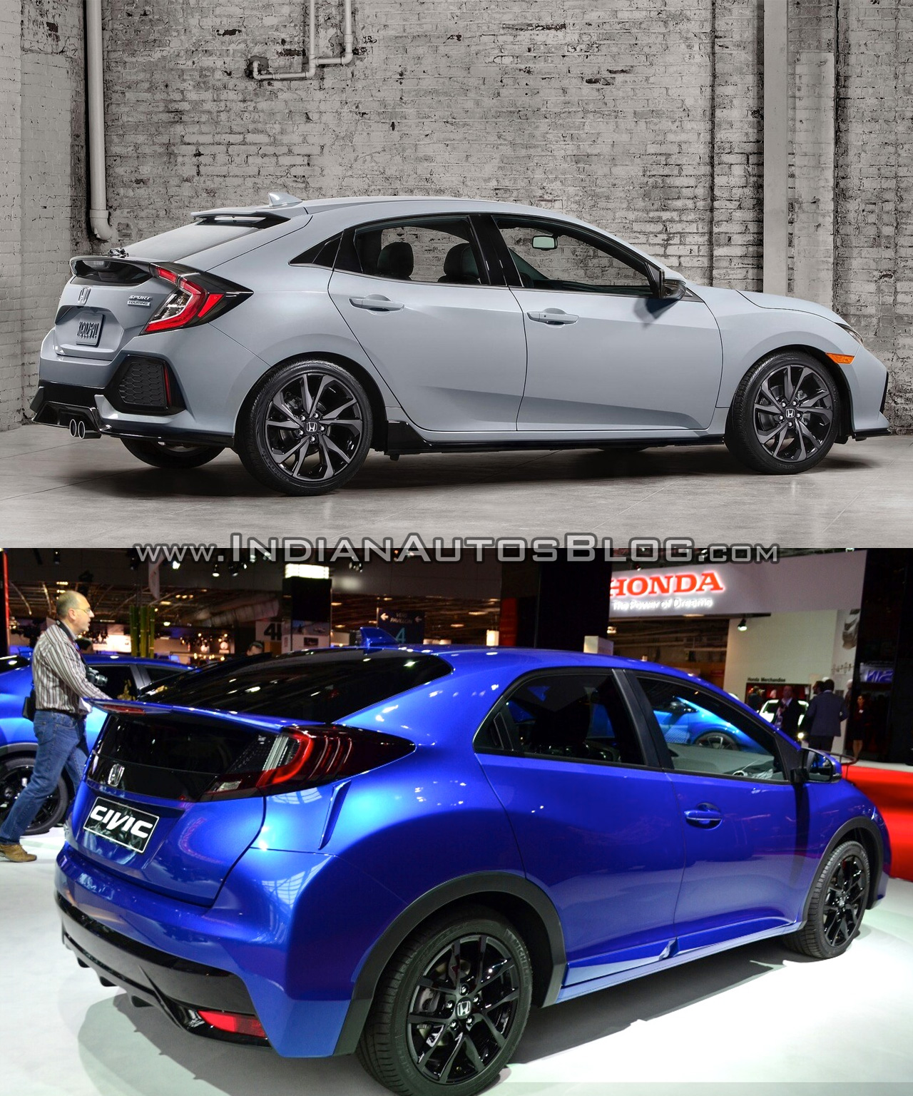 2017 honda civic hatchback vs 2015 honda civic hatchback. Black Bedroom Furniture Sets. Home Design Ideas