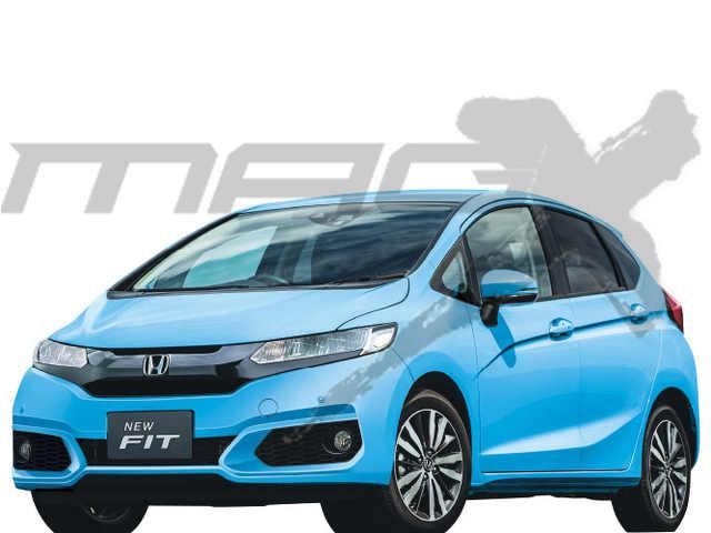 2017 Honda Jazz (2017 Honda Fit) facelift
