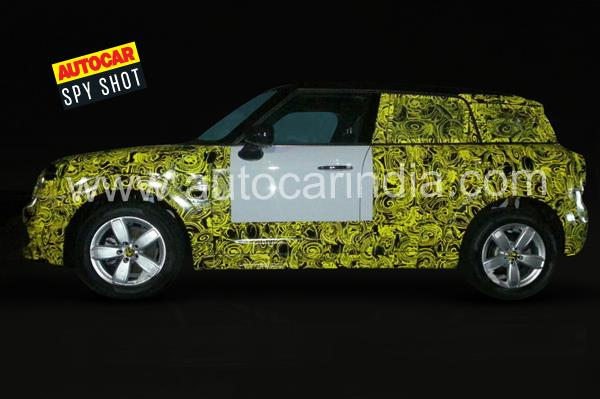 2017 Mini Countryman spied in India ahead of world premiere