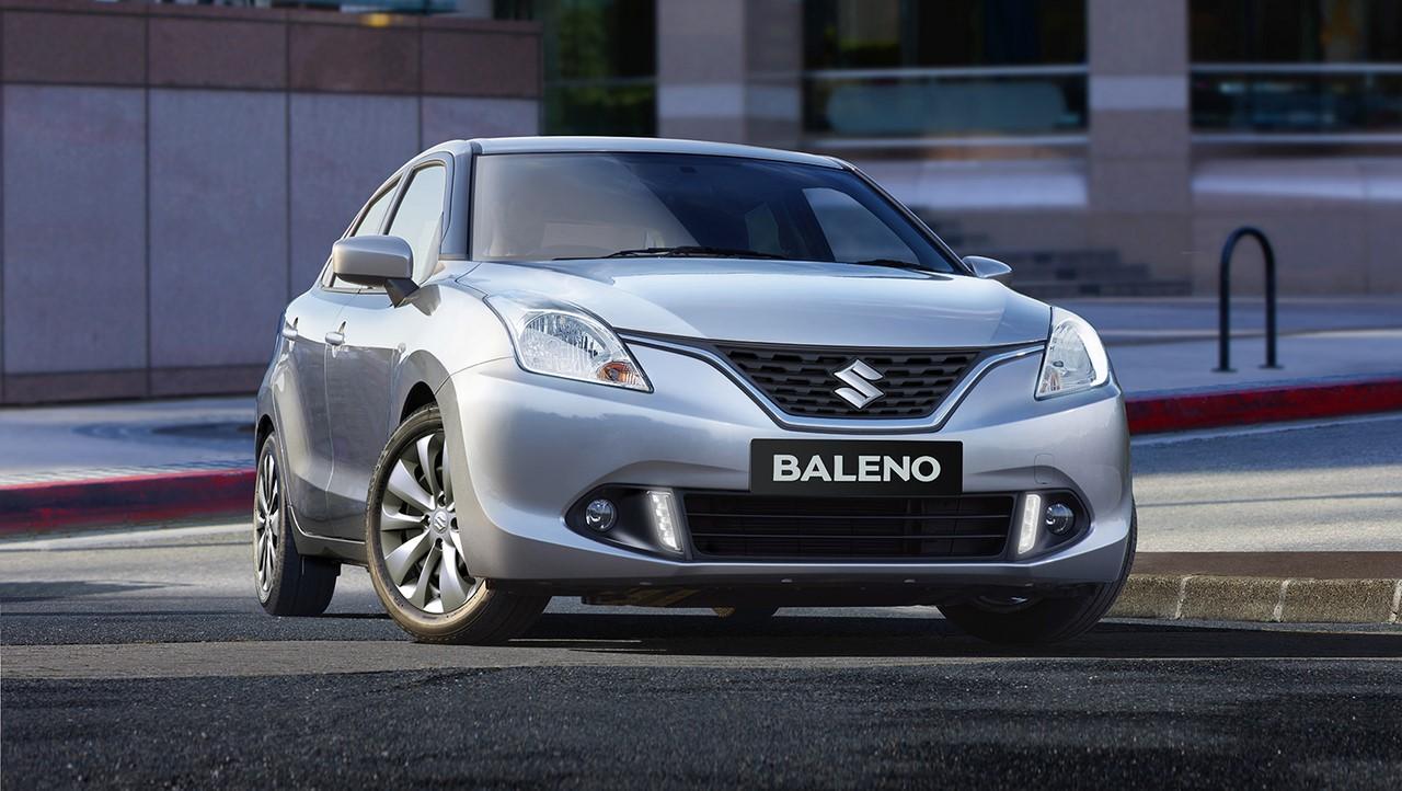 AU-spec 2016 Suzuki Baleno front three quarters right side