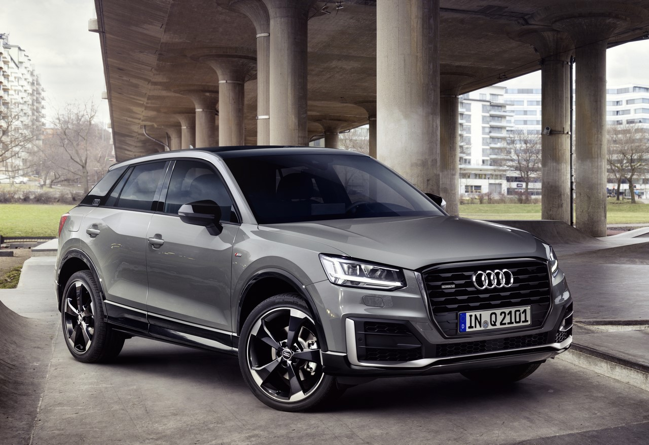 Audi Q2 Edition #1 front three quarters