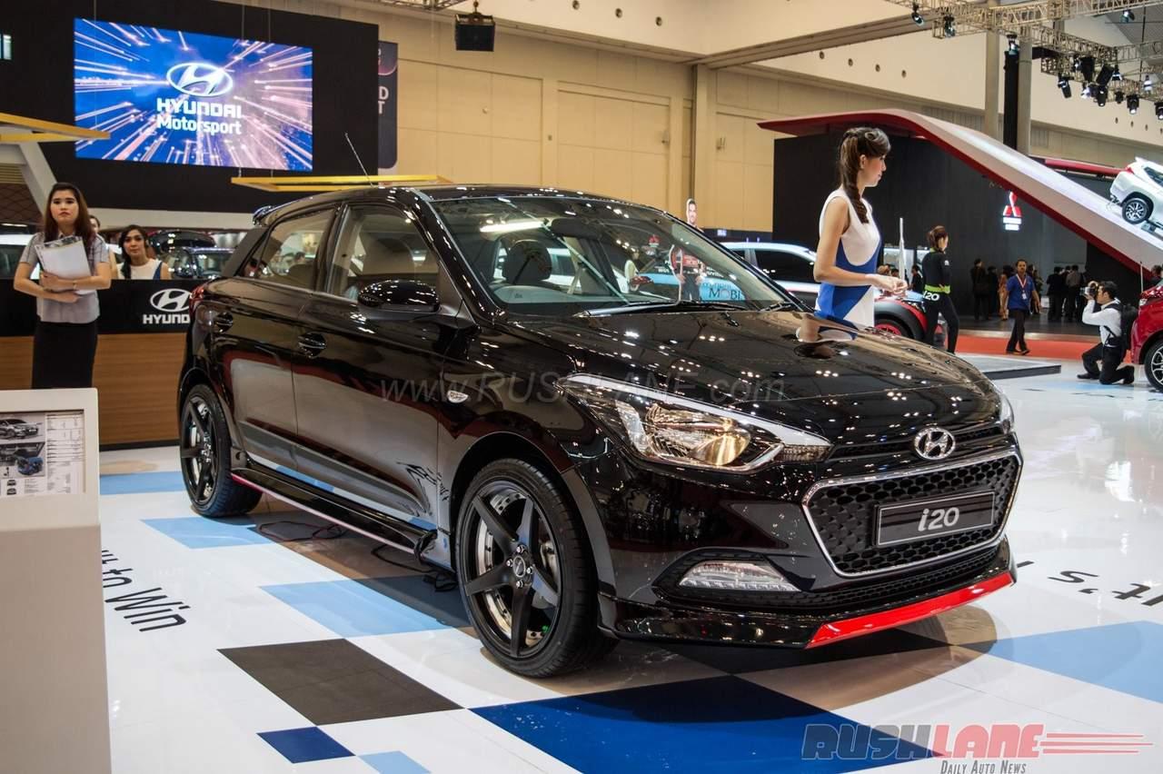 Customised Hyundai I20 Showcased At Giias In 8 Images