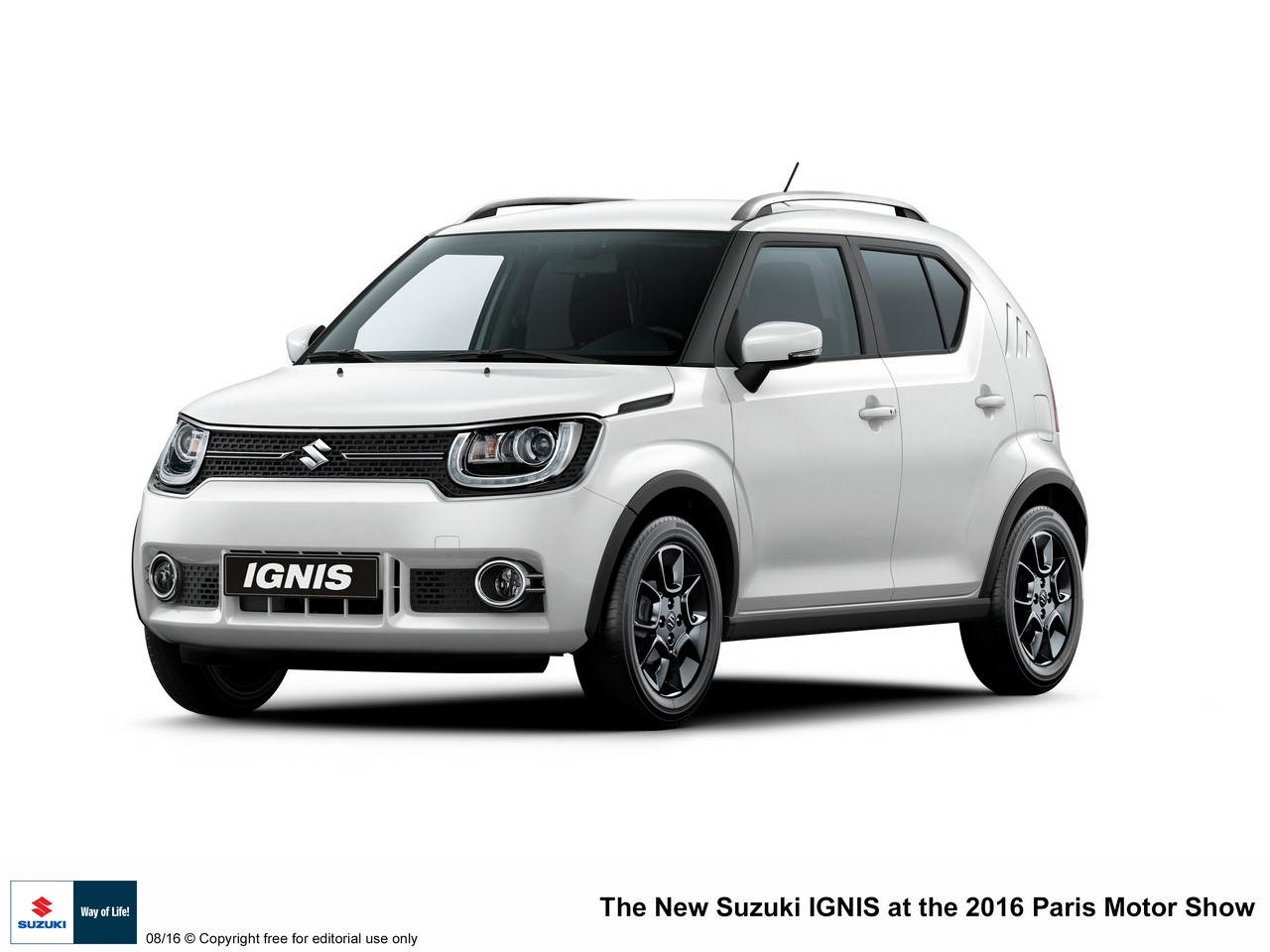Euro-spec Suzuki Ignis front three quarters