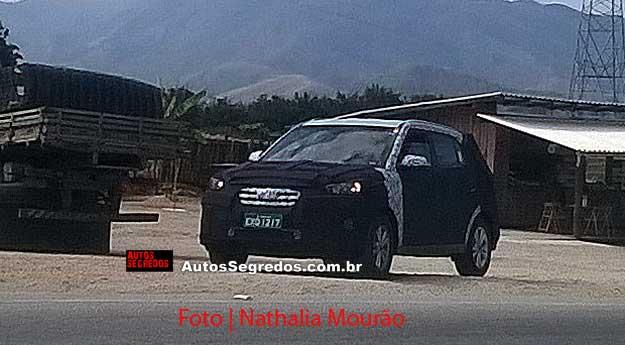 Hyundai Creta Brazil spied