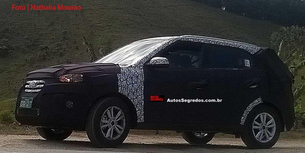 Hyundai Creta Brazil spy shot