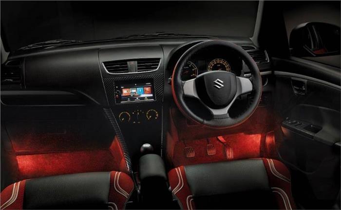 Maruti Swift Deca interior launched in India