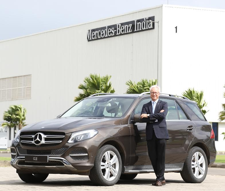 Mercedes GLE petrol launched in India