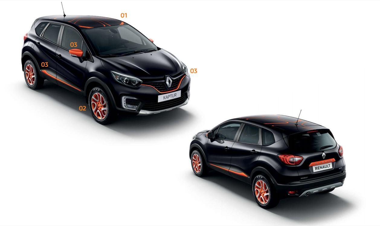 Renault Kaptur accessorised