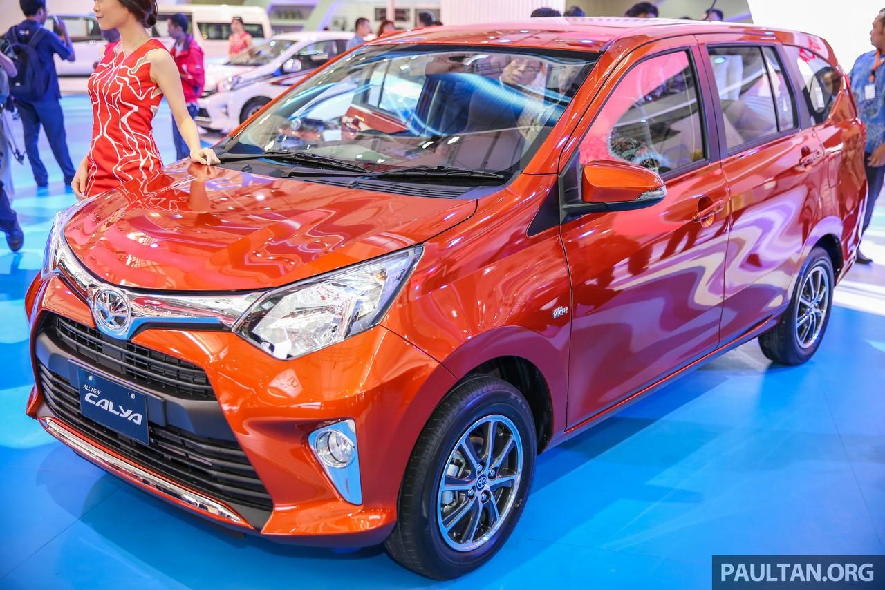 Toyota Calya front three quarters left side GIIAS 2016