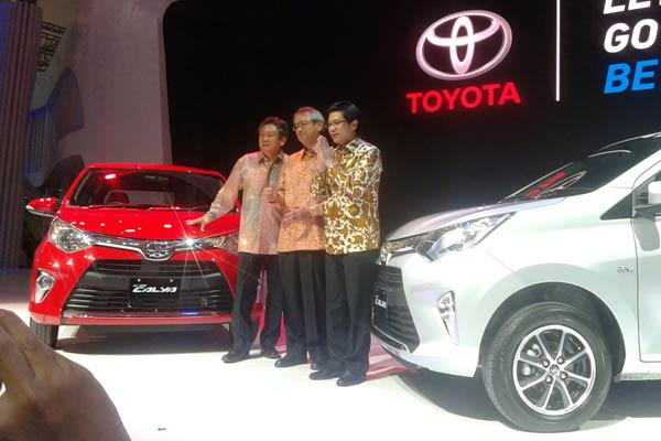 Toyota Calya launched at GIIAS