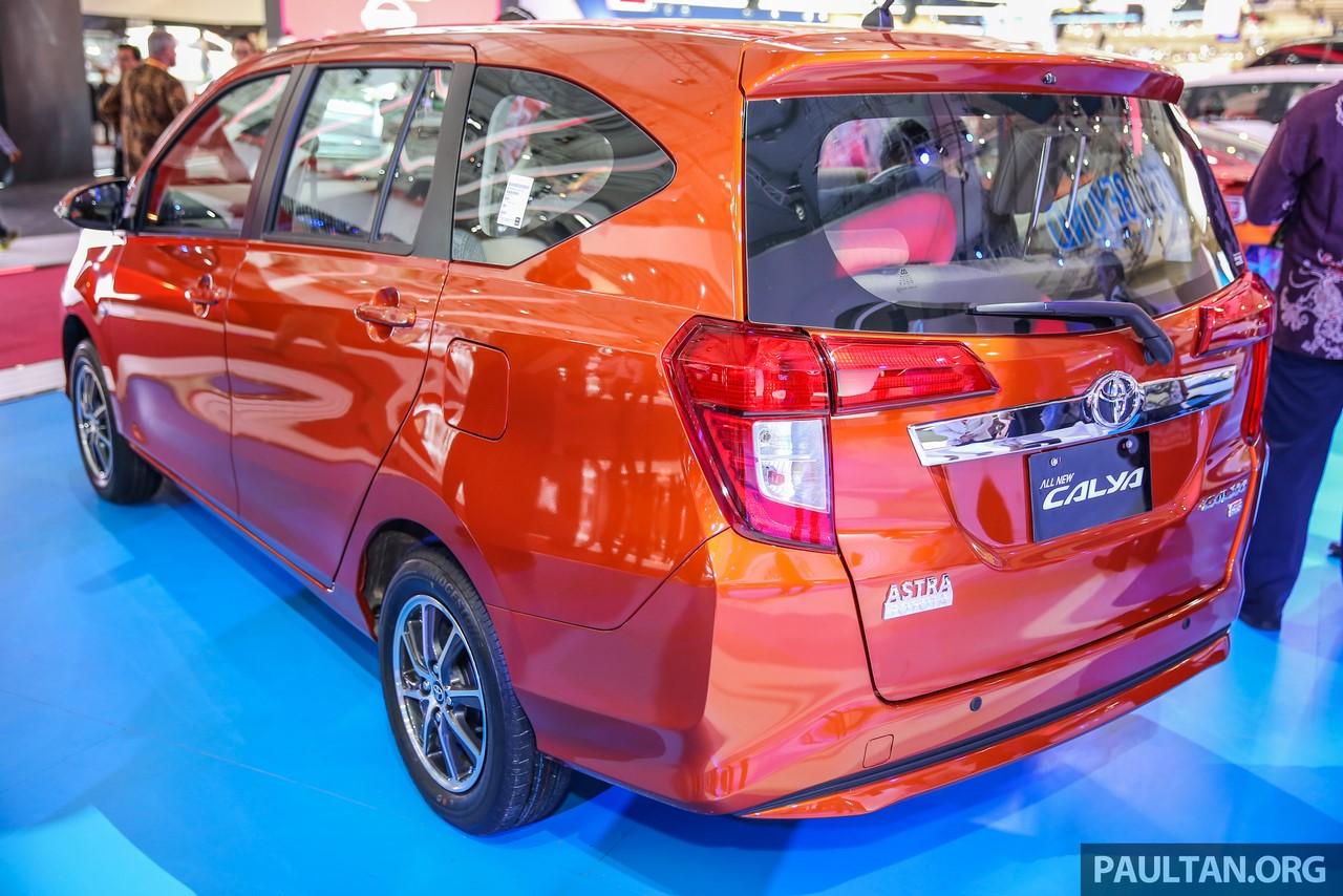 Toyota Calya rear three quarters left side GIIAS 2016