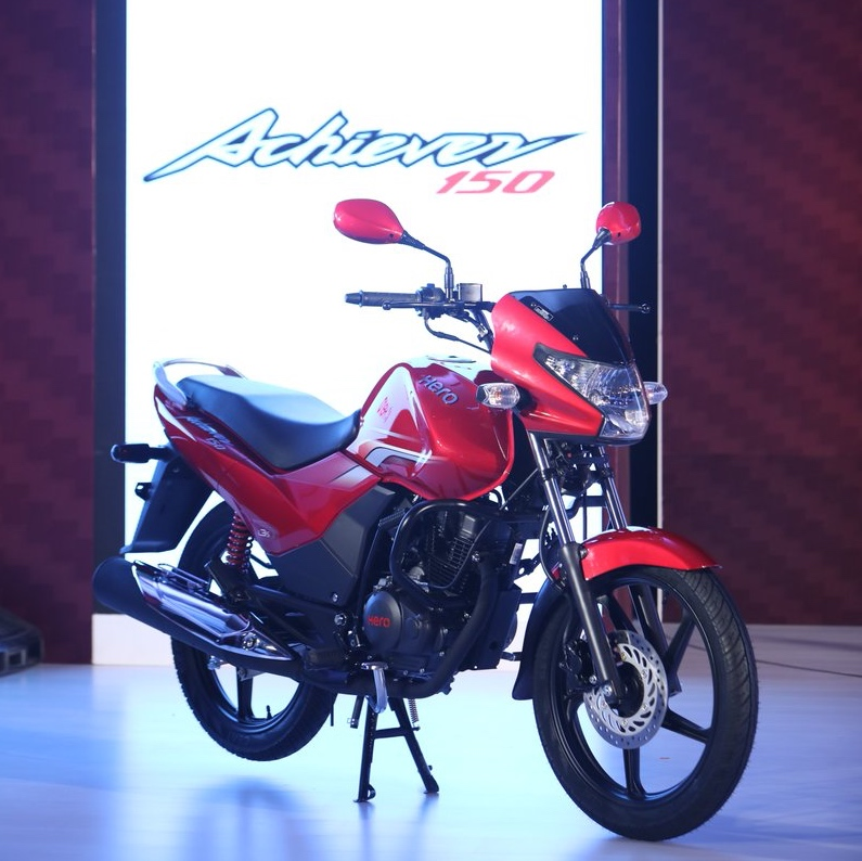 2016 Hero Achiever 150 red model launched