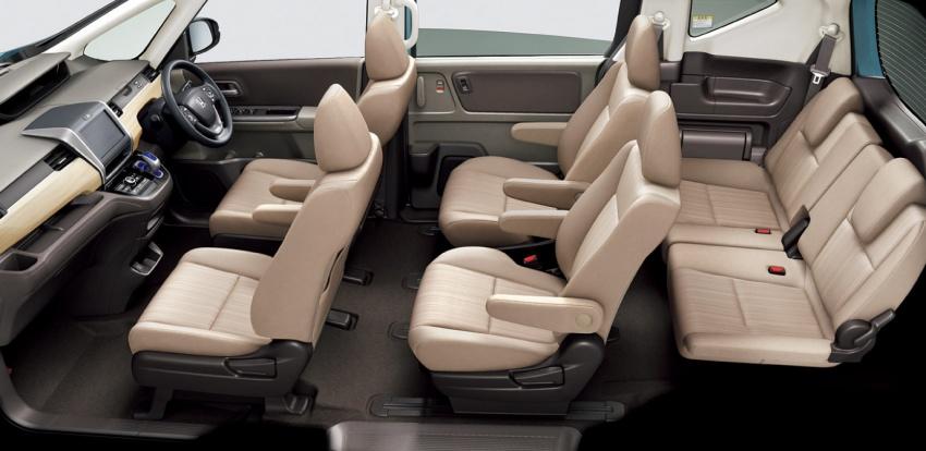 2016 Honda Freed seats launched Japan