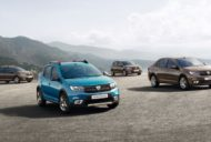 2017 Dacia Sandero (facelift), 2017 Dacia Sandero Stepway (facelift), 2017 Dacia Logan (facelift) and Dacia Logan MCV (facelift)