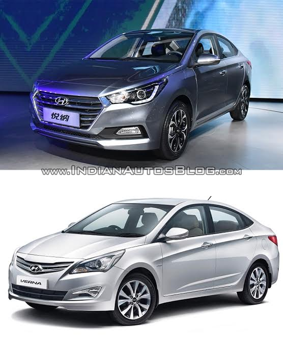 2017 Hyundai Verna Vs Current Model