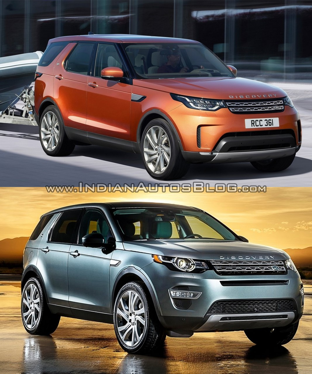 2017 land rover discovery vs land rover discovery sport in images. Black Bedroom Furniture Sets. Home Design Ideas