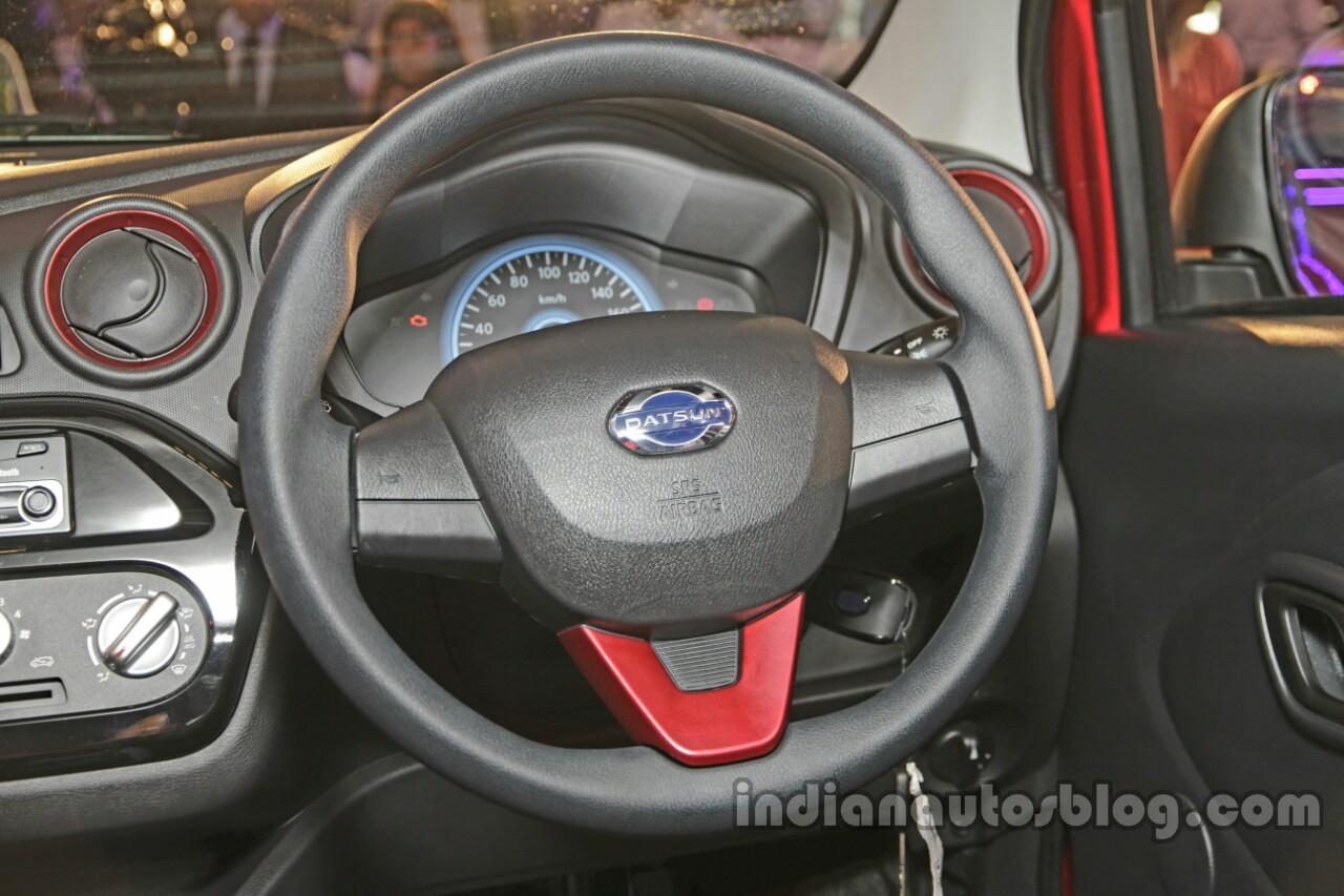 Datsun redi-GO Sport steering wheel launched