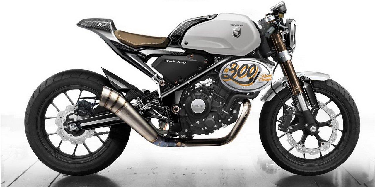 Honda 300 TT Racer Concept profile