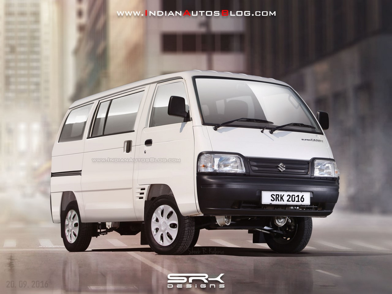 Suzuki Super Carry Van rendering